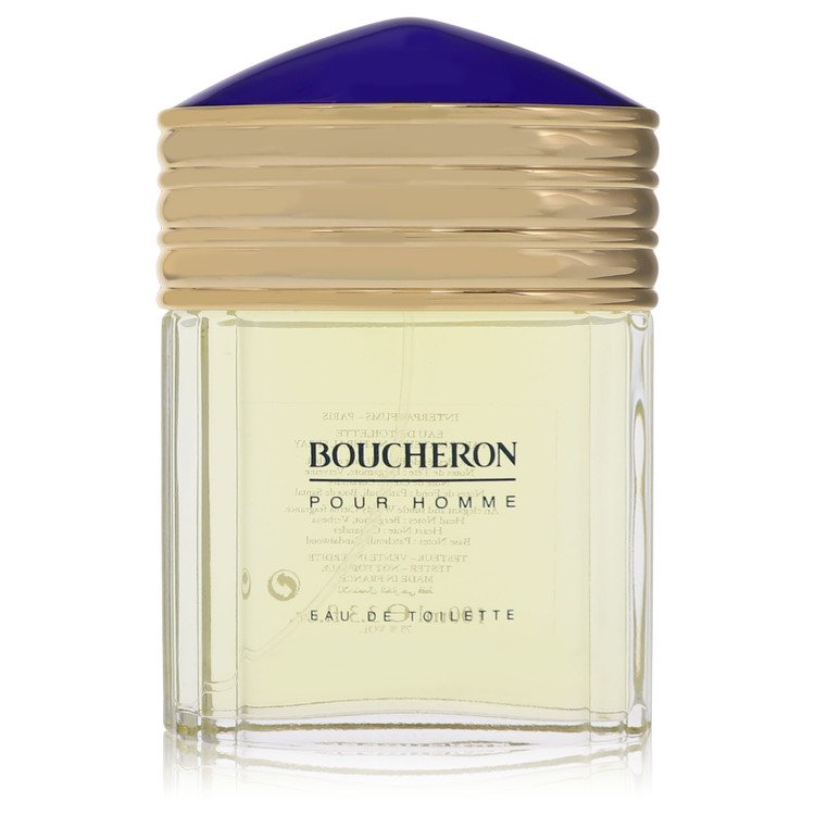 Boucheron by Boucheron Men's Eau De Toilette Spray (Tester) 3.4 oz