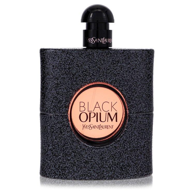 Black Opium by Yves Saint Laurent for Women Eau De Parfum Spray (Tester) 3 oz