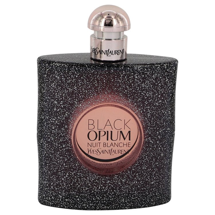 Black Opium Nuit Blanche by Yves Saint Laurent Women's Eau De Parfum Spray (Tester) 3 oz