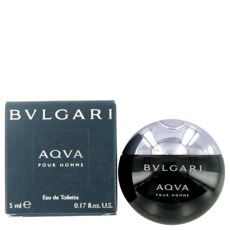 Aqua Pour Homme by Bvlgari Men's Mini EDT .17 oz