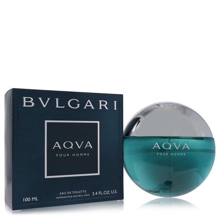 Aqua Pour Homme by Bvlgari Men's Eau De Toilette Spray 3.3 oz