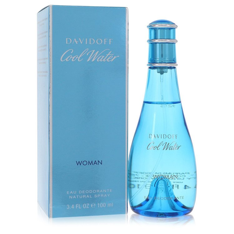 Cool Water by Davidoff Women's Deodorant Spray 3.3 oz