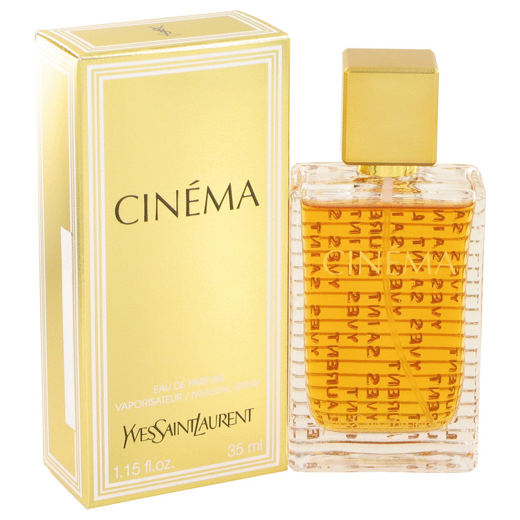 Cinema by Yves Saint Laurent Women's Eau De Parfum Spray 1.15 oz