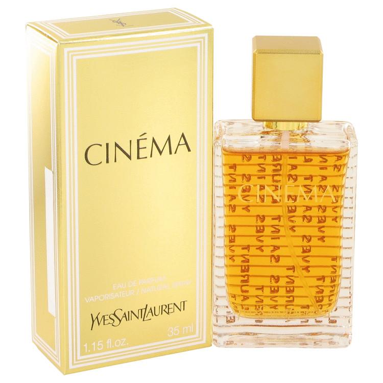 Cinema by Yves Saint Laurent for Women Eau De Parfum Spray 1.15 oz