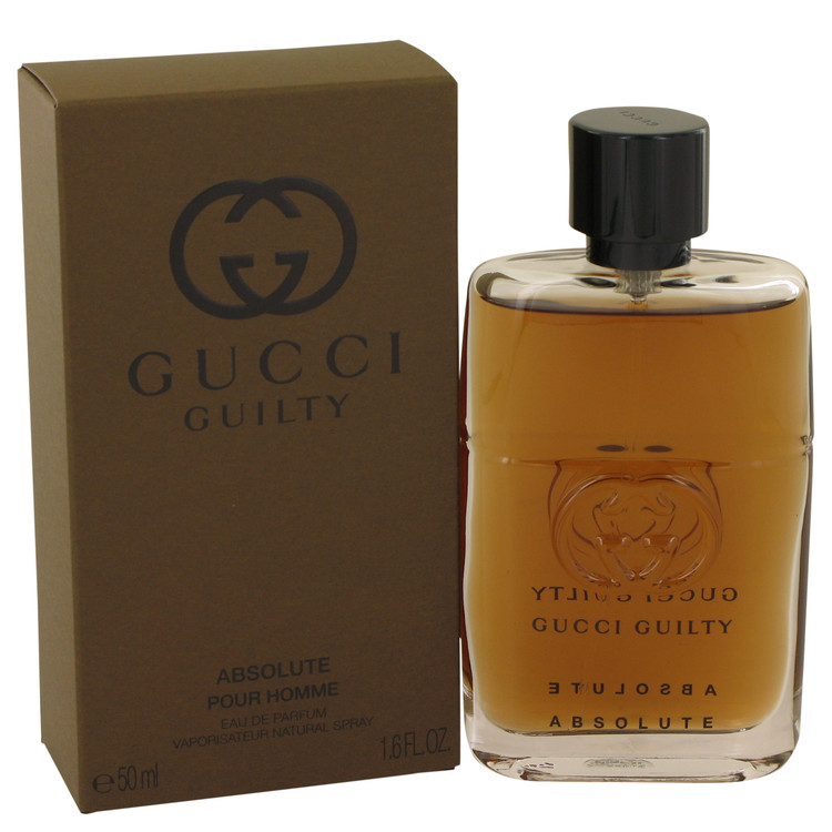 gucci guilty absolute by gucci for men eau de parfum spray