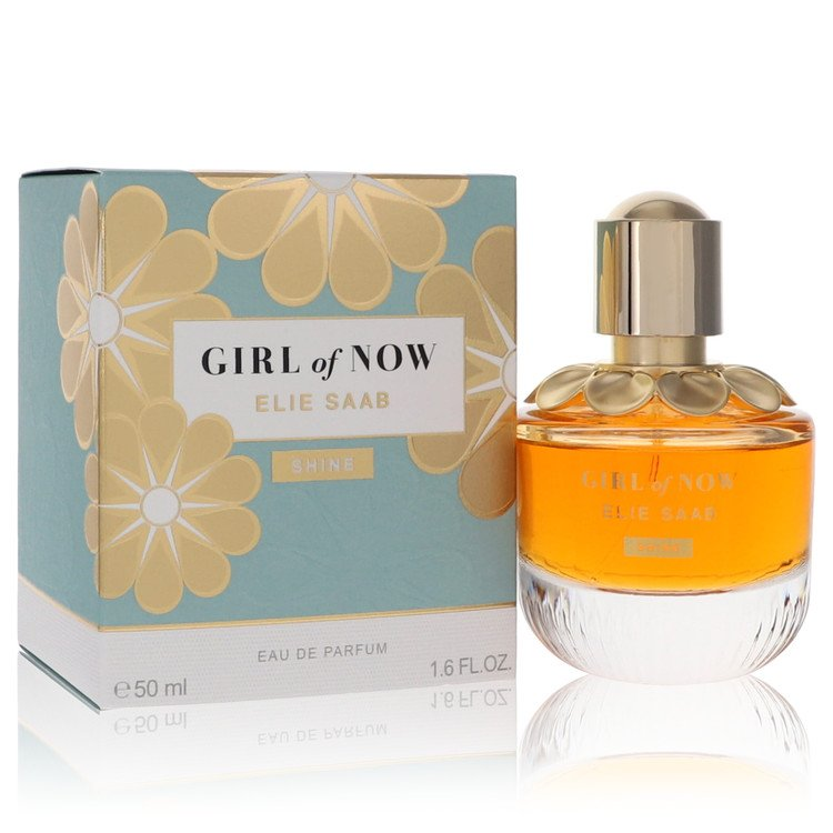 Girl Of Now Shine by Elie Saab Women's Eau De Parfum Spray 1.6 oz