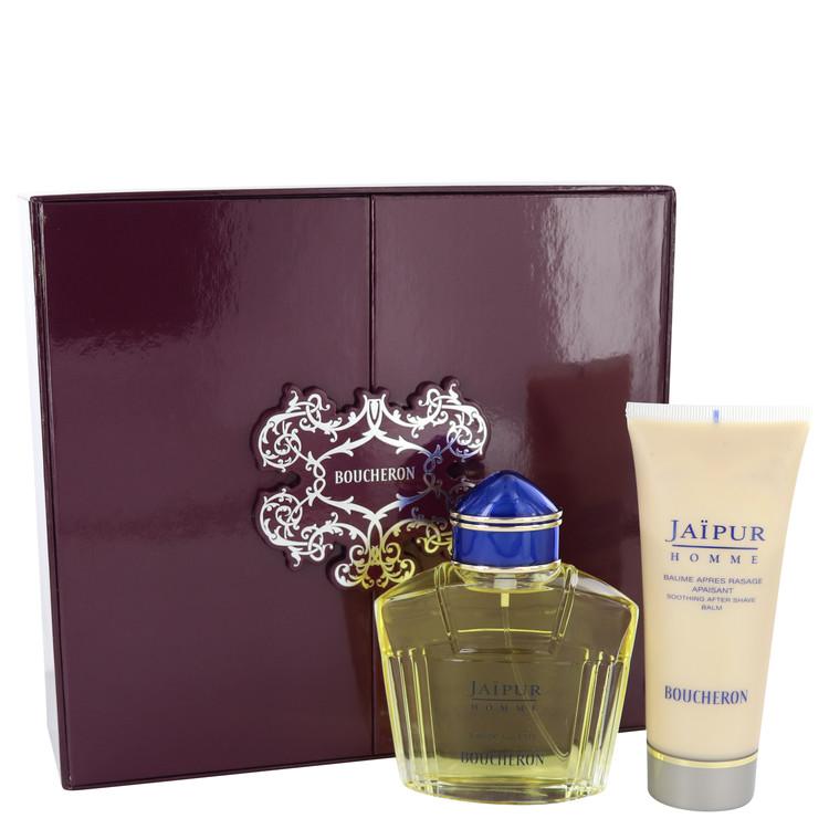 Jaipur by Boucheron Men's Gift Set -- 3.3 oz Eau De Toilette Soray + 3.3 oz After Shave Balm Image