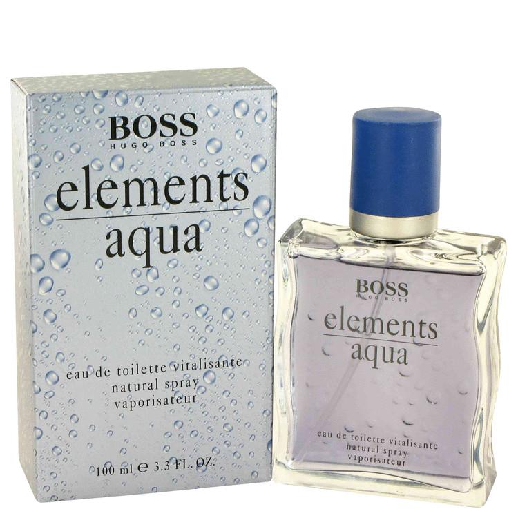Aqua Elements by Hugo Boss for Men Eau De Toilette Spray 3.4 oz