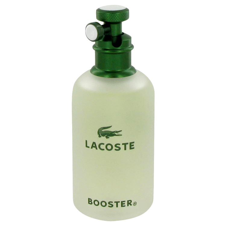 Booster by Lacoste Men's Eau De Toilette Spray (Tester) 4.2 oz