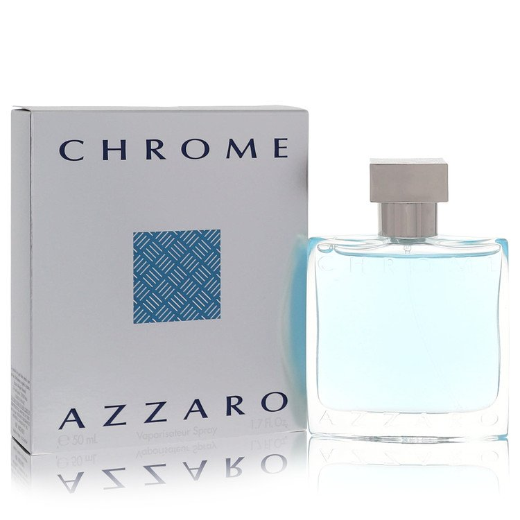 Chrome by Azzaro for Men Eau De Toilette Spray 1.7 oz