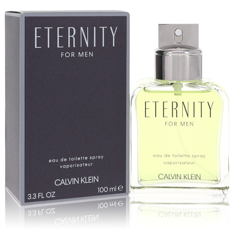Eternity by Calvin Klein for Men Eau De Toilette Spray 3.4 oz
