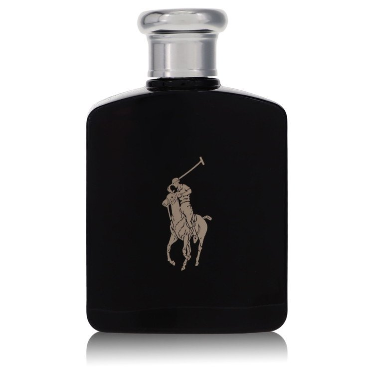 Polo Black by Ralph Lauren Men's Eau De Toilette Spray (Tester) 4.2 oz