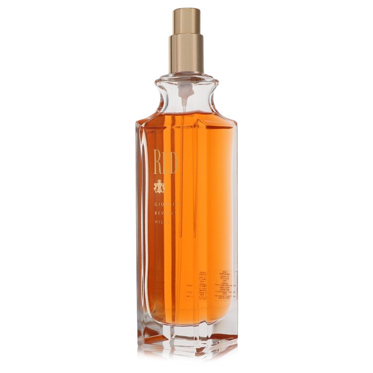 RED by Giorgio Beverly Hills for Women Eau De Toilette Spray (Tester) 3 oz