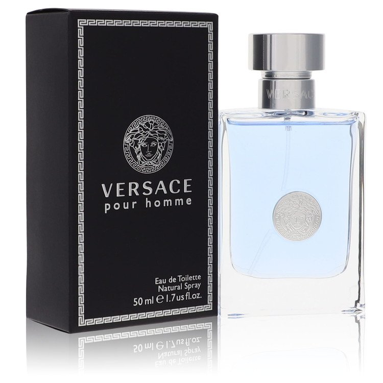 Versace Pour Homme by Versace for Men Eau De Toilette Spray 1.7 oz