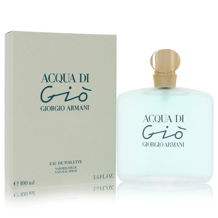 Acqua Di Gio by Giorgio Armani Women's Eau De Toilette Spray 3.3 oz