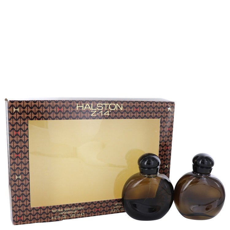 Halston Z-14 by Halston Men's Gift Set -- 4.2 oz Cologne Spray + 4.2 oz After Shave + In Display Box