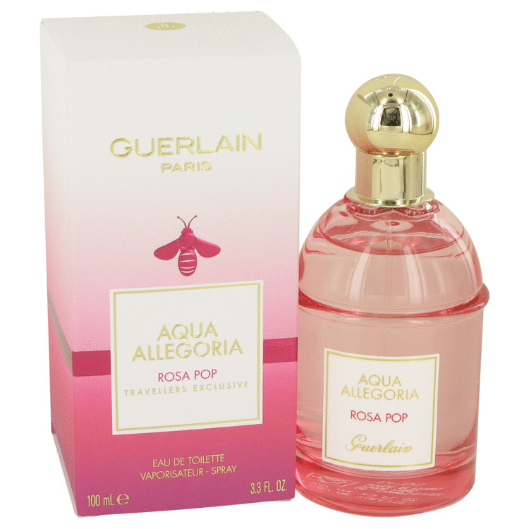 Aqua Allegoria Rosa Pop by Guerlain Women's Eau De Toilette Spray 3.3 oz
