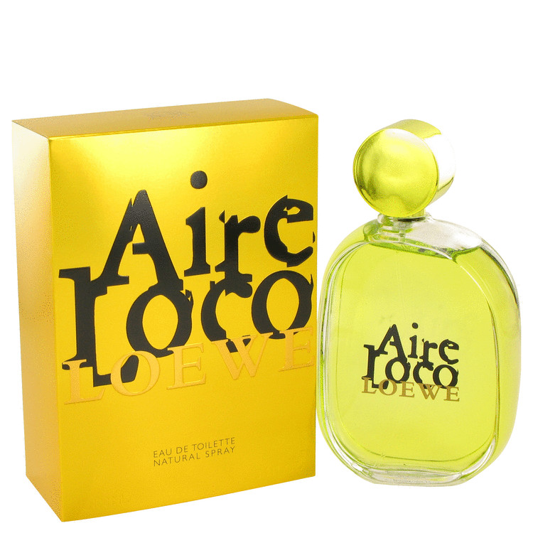 Aire Loco Loewe by Loewe Women's Eau De Toilette Spray 3.4 oz