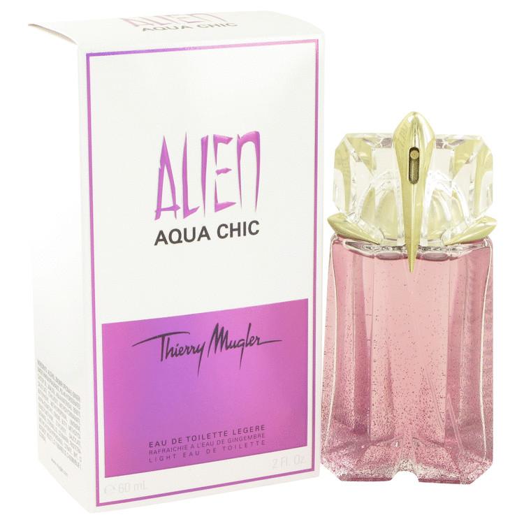 Alien Aqua Chic by Thierry Mugler Women's Light Eau De Toilette Spray 2 oz