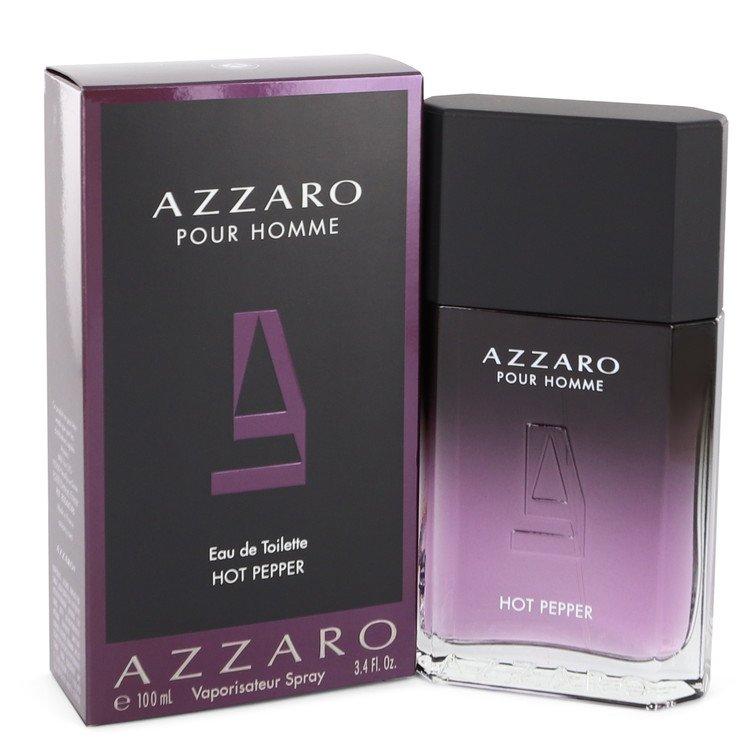 Azzaro Hot Pepper by Azzaro Men's Eau De Toilette Spray 3.4 oz