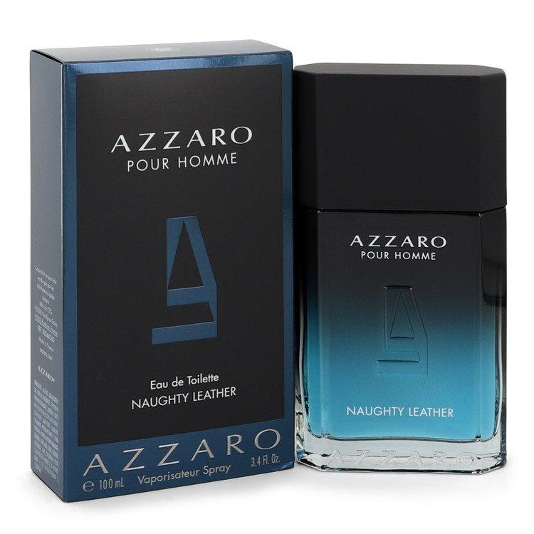 Azzaro Naughty Leather by Azzaro Men's Eau De Toilette Spray 3.4 oz