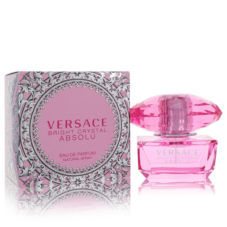 Bright Crystal Absolu by Versace for Women Eau De Parfum Spray 1.7 oz
