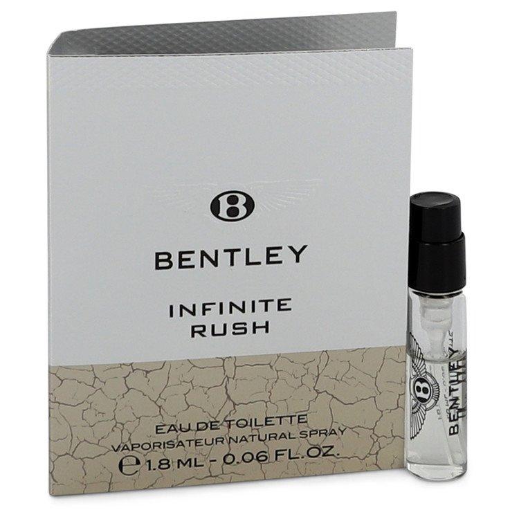 Bentley Infinite Rush by Bentley Men's Vial (Sample) .06 oz