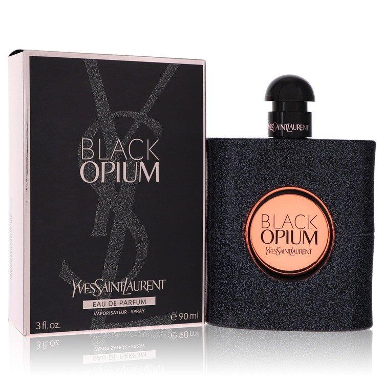 Black Opium by Yves Saint Laurent for Women Eau De Parfum Spray 3 oz