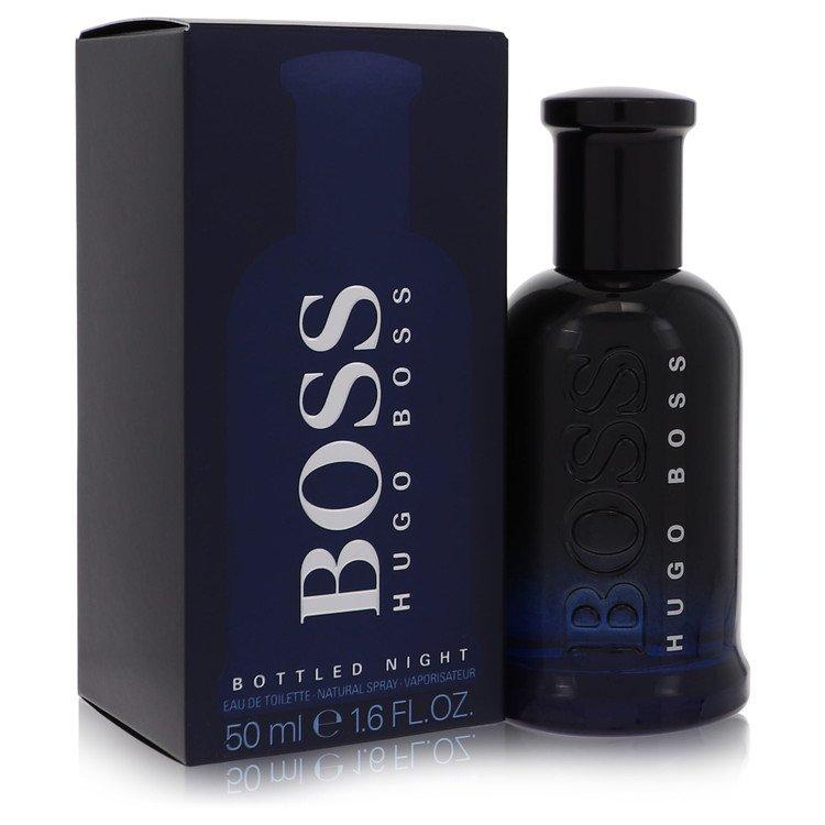 Boss Bottled Night by Hugo Boss for Men Eau De Toilette Spray 1.7 oz