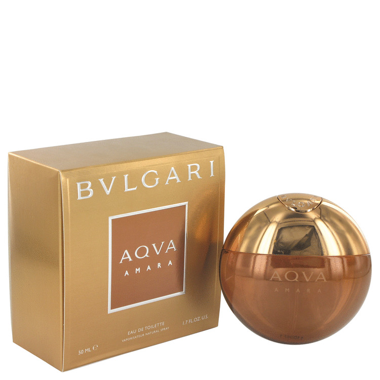 Bvlgari Aqua Amara by Bvlgari for Men Eau De Toilette Spray 1.7 oz