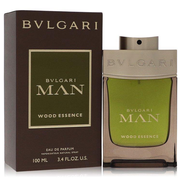 Bvlgari Man Wood Essence by Bvlgari Men's Eau De Parfum Spray 3.4 oz