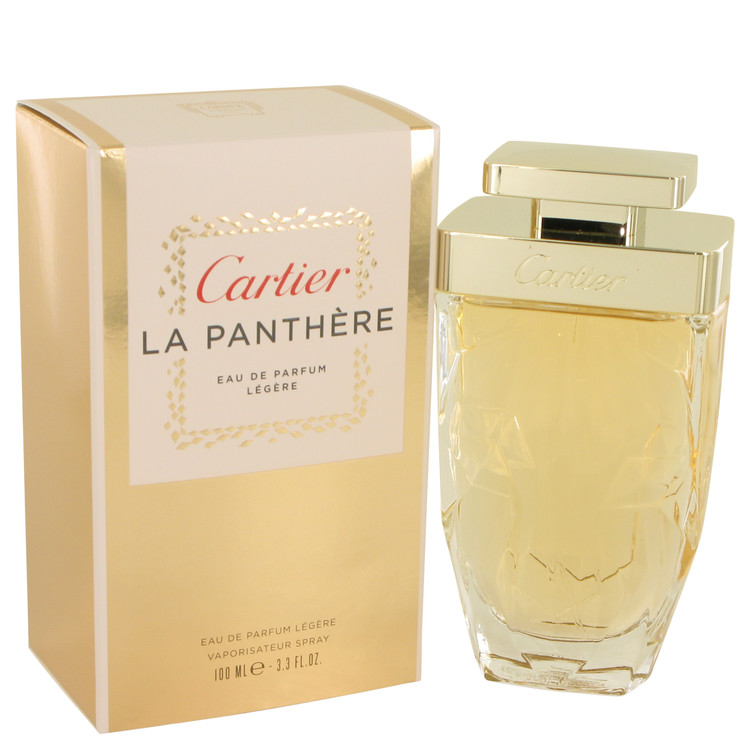 Cartier La Panthere by Cartier Women's Eau De Parfum Legere Spray 3.3 oz