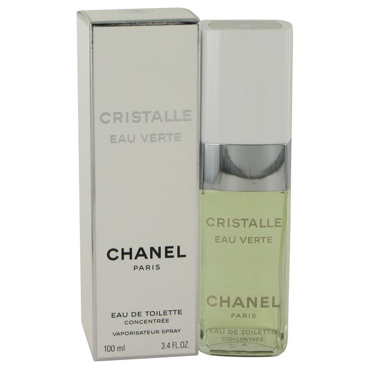 Cristalle Eau Verte by Chanel Women's Eau De Toilette Concentree Spray 3.4 oz