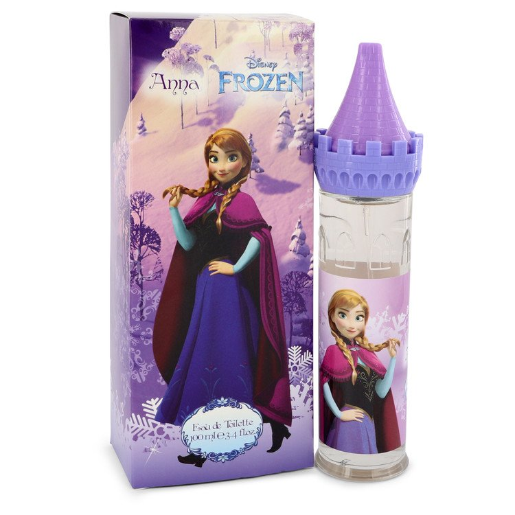 Disney Frozen Anna by Disney Women's Eau De Toilette Spray (Castle Packaging) 3.4 oz