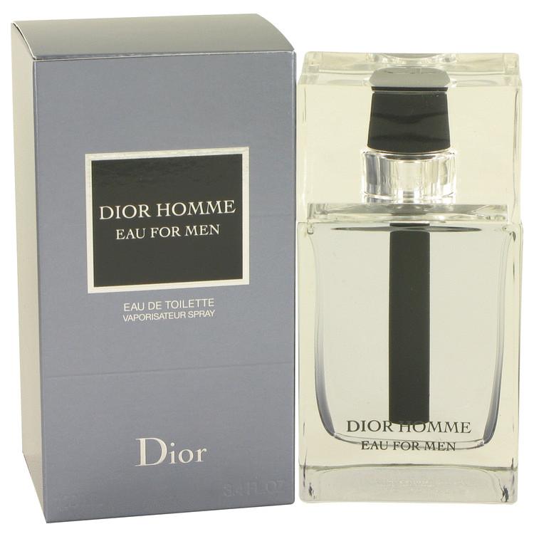 Dior Homme Eau by Christian Dior Men's Eau De Toilette Spray 3.4 oz