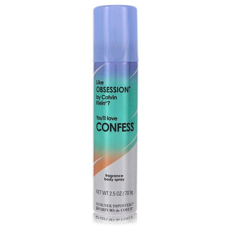 Designer Imposters Confess by Parfums De Coeur Women's Deodorant Body Spray 2.5 oz