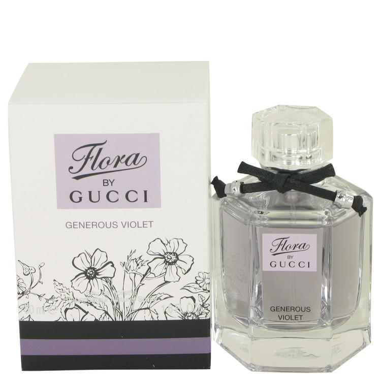Flora Generous Violet by Gucci Women's Eau De Toilette Spray 1.7 oz