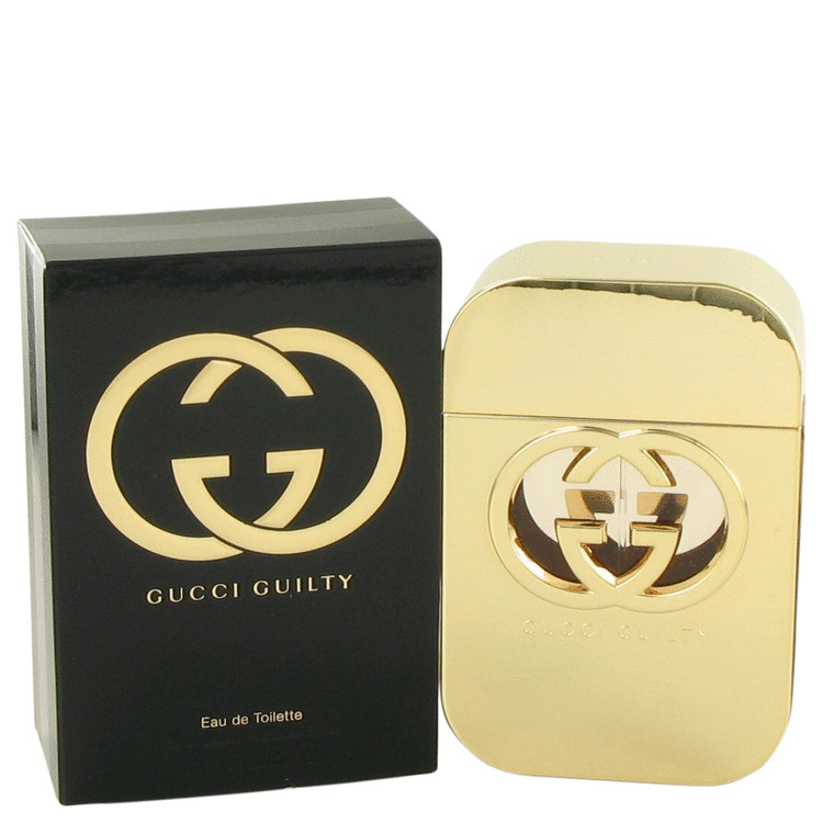 Gucci Guilty by Gucci Women's Eau De Toilette Spray 2.5 oz