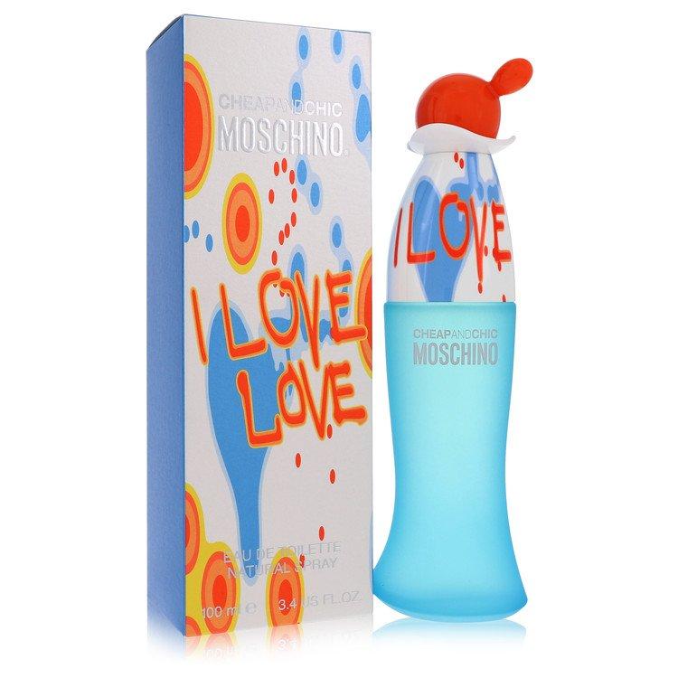 I Love Love by Moschino for Women Eau De Toilette Spray 3.4 oz
