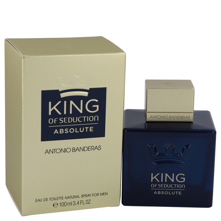 King Of Seduction Absolute by Antonio Banderas for Men Eau De Toilette Spray 3.4 oz