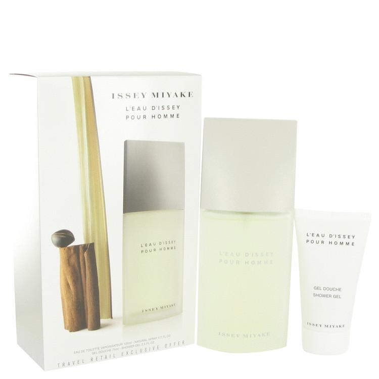 L'eau D'issey (issey Miyake) by Issey Miyake Men's Gift Set -- 4.2 oz Eau De Toilette Spray + 2.5 oz Shower Gel