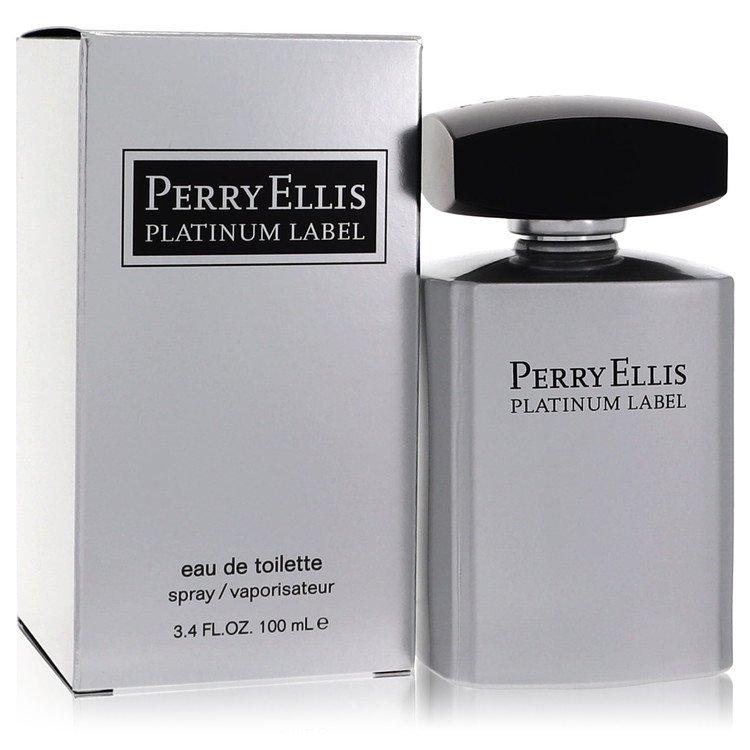 Perry Ellis Platinum Label by Perry Ellis for Men Eau De Toilette Spray 3.4 oz