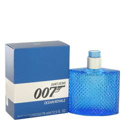 007 Ocean Royale Cologne by James Bond, 2.5 oz Eau De Toilette Spray for Men