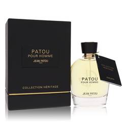 Patou Pour Homme Cologne by Jean Patou, 3.4 oz Eau De Toilette Spray (Heritage Collection) for Men