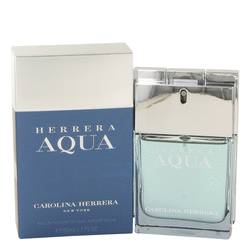 Herrera Aqua Cologne by Carolina Herrera, 50 ml Eau De Toilette Spray for Men