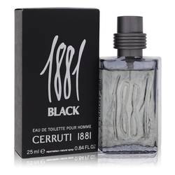 1881 Black Cologne by Nino Cerruti, 25 ml Eau De Toilette Spray for Men
