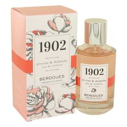 Image of 1902 Pivoine & Rhubarbe Perfume by Berdoues, 3.38 oz Eau De Toilette Spray for Women