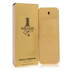 1 Million Cologne by Paco Rabanne, 200 ml Eau De Toilette Spray for Men
