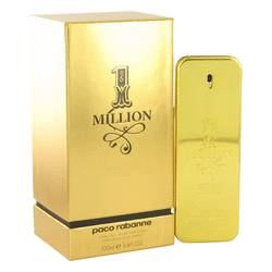 1 Million Absolutely Gold Cologne by Paco Rabanne 3.3 oz Pure Perfume Spray