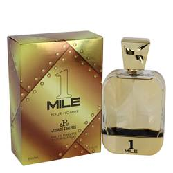 1 Mile Pour Homme Cologne by Jean Rish, 3.4 oz Eau De Toilette Spray for Men